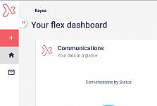 Logo in workspace homepage links to old flex website
