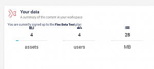 Icons seem clipped in your data area within the workspace